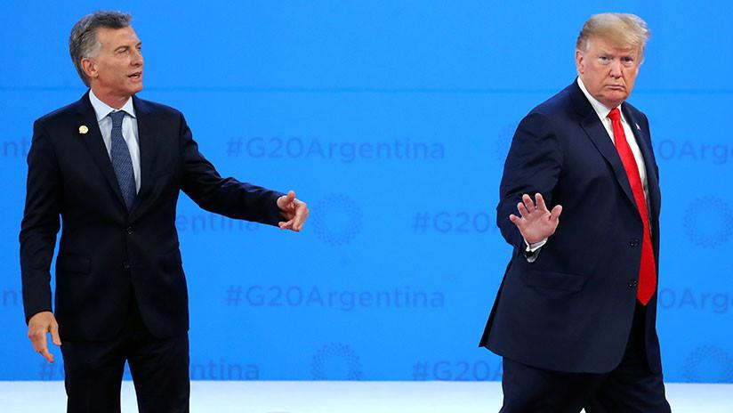 Plantón en la cumbre: Trump deja solo a Macri justo antes de la foto oficial en el G20 (VIDEO)