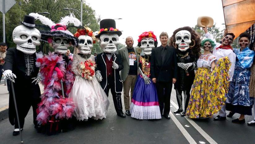 La catrina es una calavera popularizada por el grabador mexicano José Guadalupe Posada. / CDMX Comunicación Social
