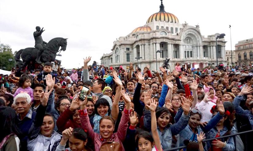 Al desfile de Día de Muertos 2018 asistieron 1.500.000 personas. / CDMX Comunicación Social