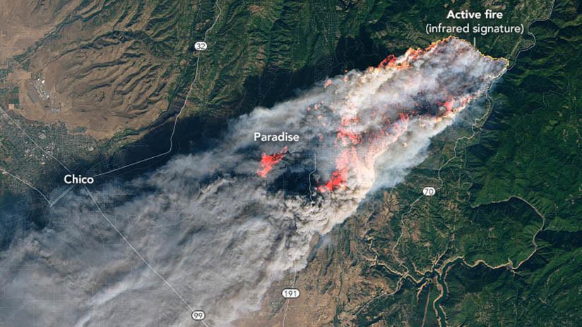 Suben a 51 los muertos por incendios en California