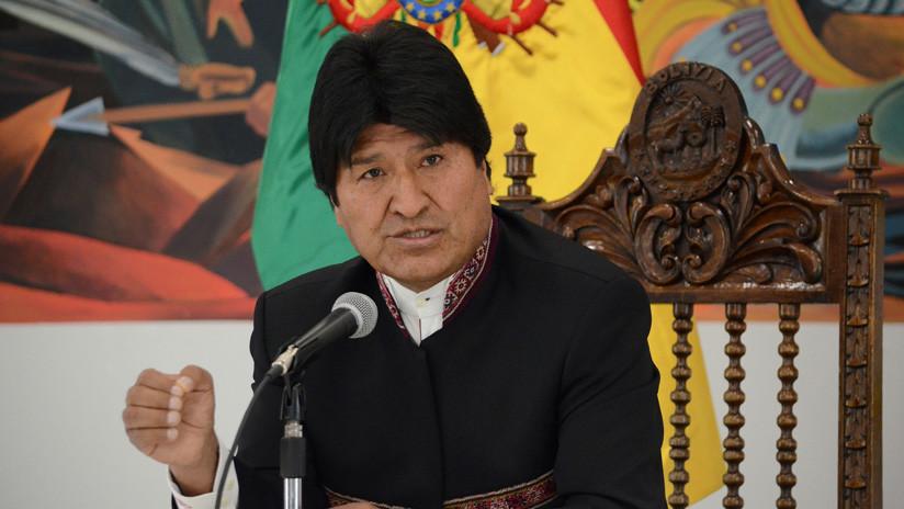 El presidente Evo Morales durante una conferencia de prensa en La Paz, Bolivia, 2 de octubre de 2018 / Jose Lirauz / Reuters