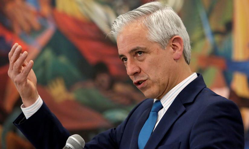 Vicepresidente de Bolivia, Álvaro García Linera en La Paz, el 5 de octubre de 2018 / David Mercado / Reuters