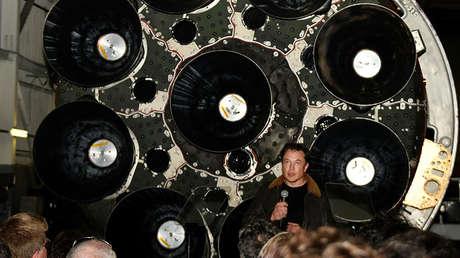 Elon Musk, cofundador de SpaceX y Tesla, en Hawthorne, California, el 17 de septiembre de 2018.