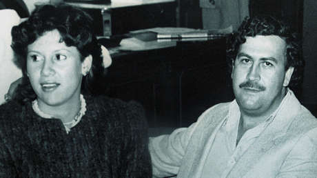 Pablo Escobar y su esposa Victoria Henao, en 1983.