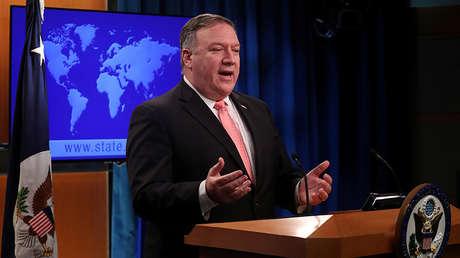 El secretario de Estado estadounidense Mike Pompeo en Washington (EE.UU.), 23 de octubre de 2018.