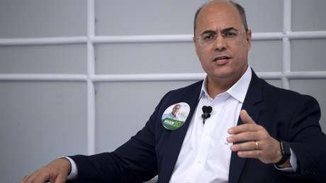 Gobernador electo de Río de Janeiro, Wilson Witzel, el 19 de septiembre de 2018.