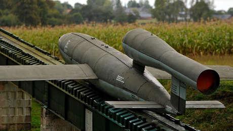 Réplica de una bomba voladora V-1.