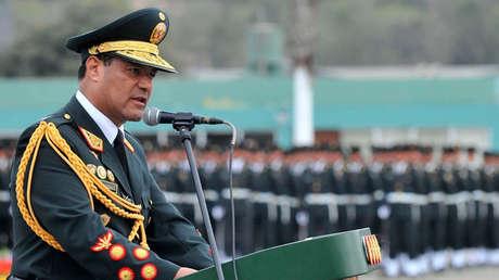 El ex director de la Policía Raul Becerra en un encuentro en Lima, Perú. 3 de noviembre de 2016