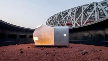 El prototipo de vivienda sustentable 'MARS case'.