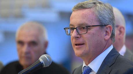 El embajador extraordinario y plenipotenciario de Austria a Rusia, Johannes Aigner.