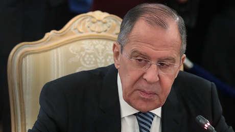 El ministro de Relaciones Exteriores ruso, Serguéi Lavrov