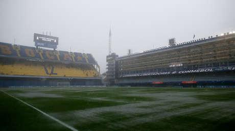 Estadio Alberto J. Armando en Buenos Aires (Argentina), el 10 de noviembre de 2018.