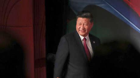 El presidente chino, Xi Jinping, en la cumbre de la APEC en Port Moresby (Papua Nueva Guinea), el 17 de noviembre de 2018.
