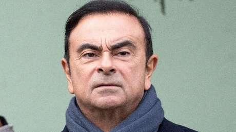 Carlos Ghosn en Francia, el 8 de noviembre de 2018