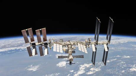 La Estación Espacial Internacional (EEI), 4 de octubre de 2018.