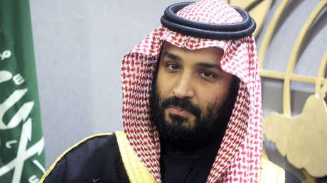 El Príncipe heredero de Arabia Saudita, Mohamed bin Salmán en Nueva York. 27 de marzo de 2018.
