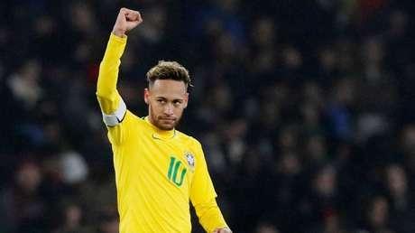 El futbolista brasileño Neymar Jr. Londres, Reino Unido, 16 de noviembre de 2018.
