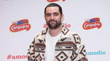 El actor Dani Mateo en Madrid, España. 18 de diciembre de 2017.