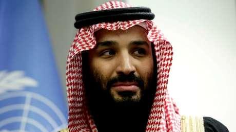 El príncipe heredero de Arabia Saudita, Mohamed bin Salmán.