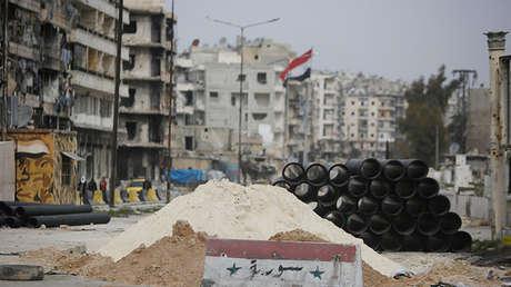 La ciudad siria de Alepo, Siria. Imagen liustrativa