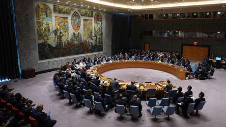 El Consejo de Seguridad de la ONU en Nueva York, EE.UU.