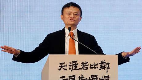 Jack Ma en una conferencia en Hong Kong, China, el 25 de junio de 2018.