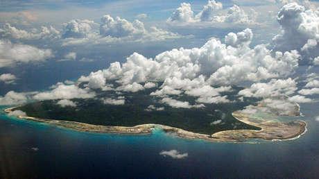 Isla Sentinel del Norte, India, 14 de noviembre de 2005.