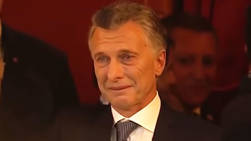 VIDEO: Macri no pudo contener la emoción en la gala del G20