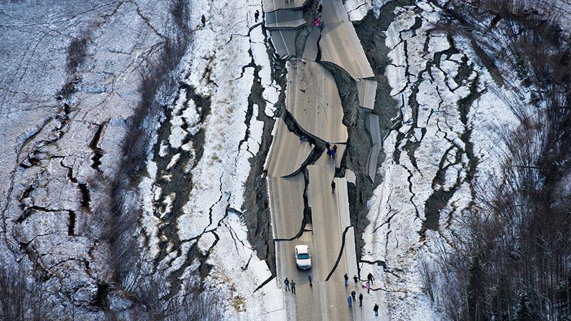 Se registran más de 150 réplicas en Alaska tras el devastador terremoto de magnitud 7,0