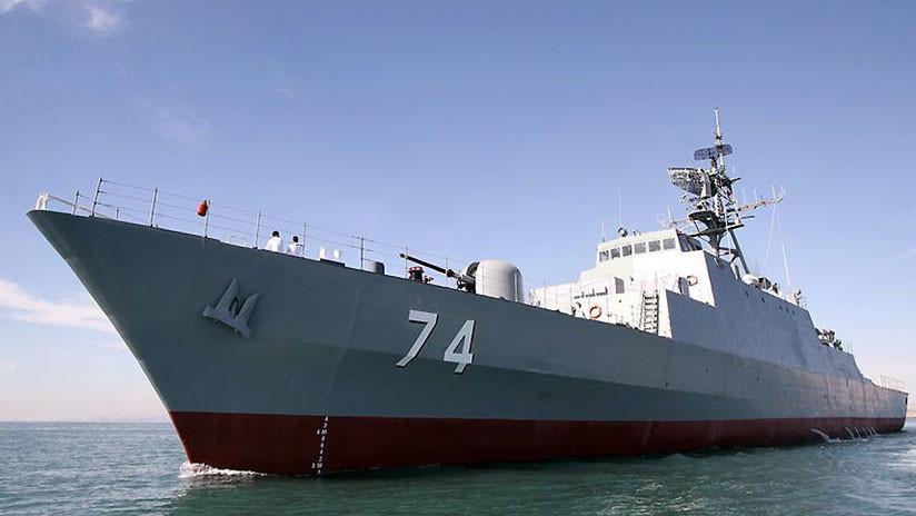VIDEO: La Armada de Irán estrena un destructor de fabricación nacional