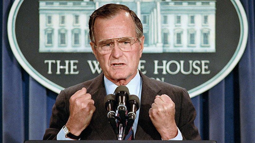 George H. W. Bush, el presidente que enterró la Guerra Fría junto a Gorbachov