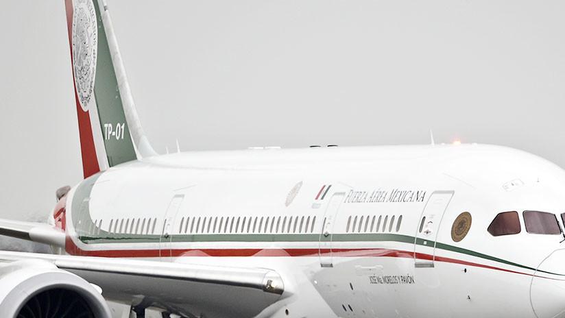 """""""Austeridad prioritaria"""": El avión presidencial mexicano volará a EE.UU. para ser vendido"""