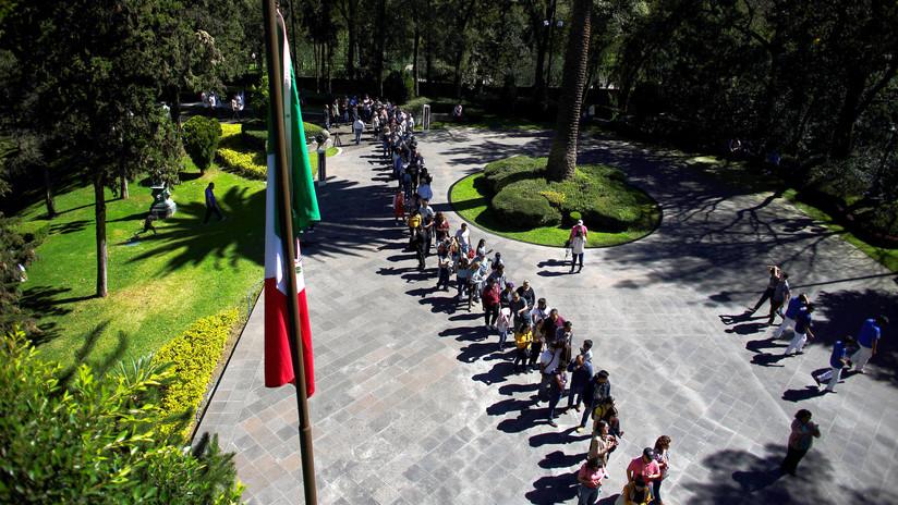 FOTOS: Abren por primera vez al público las lujosas instalaciones de la casa presidencial de México