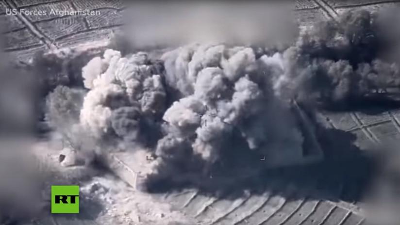 VIDEO: La OTAN muestra un mortífero ataque con drones que mató a decenas de talibanes en Afganistán