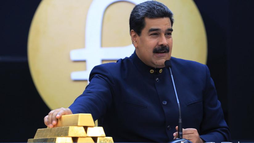"""Venezuela ratifica que exportará el oro que produce por  su """"derecho al desarrollo"""""""