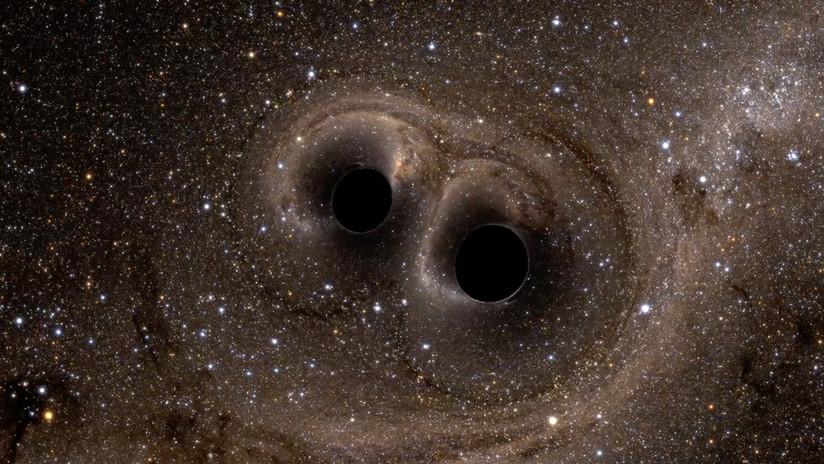 """Resultado de imagen de Fusión de agujeros negros"""""""