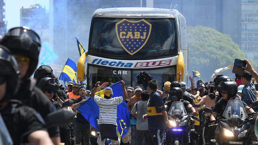 Detienen a uno de los hinchas de River Plate acusados de atacar el autobús de Boca Juniors