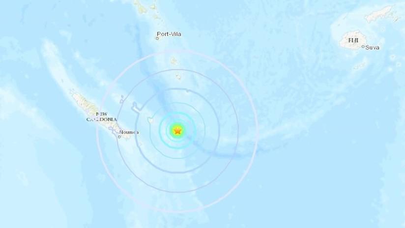 Alerta de tsunami en Nueva Caledonia tras sismo de 7.5