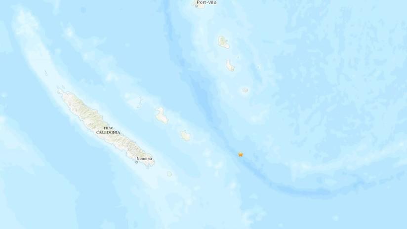 Terremoto de magnitud 7,6 se registra en las costas de Nueva Caledonia