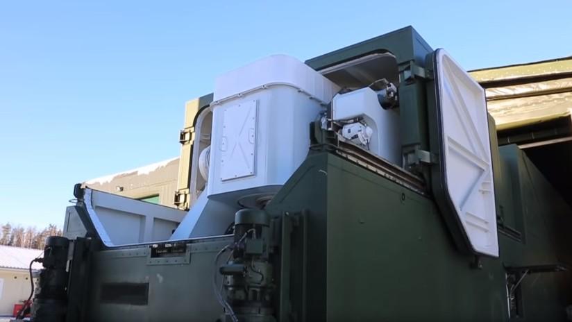 """VIDEO: El Ejército ruso muestra imágenes """"únicas"""" de su moderno sistema láser de combate Peresvet"""