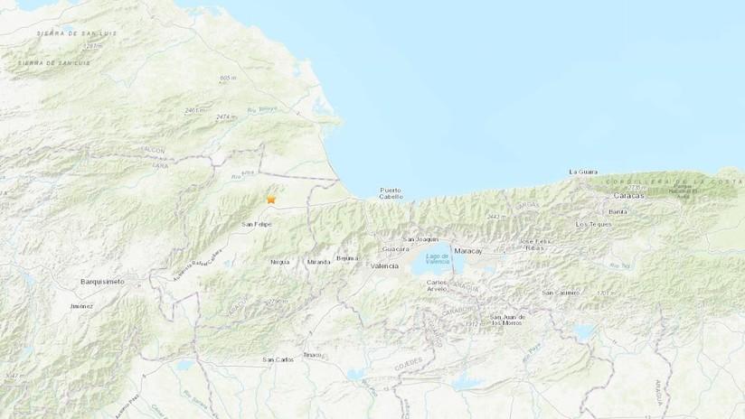 Un sismo de magnitud 4,7 se registra en Venezuela