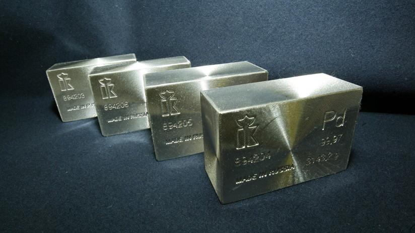 Fin al reinado del oro: El paladio 'vence' en la carrera de precios impulsado por su alta demanda