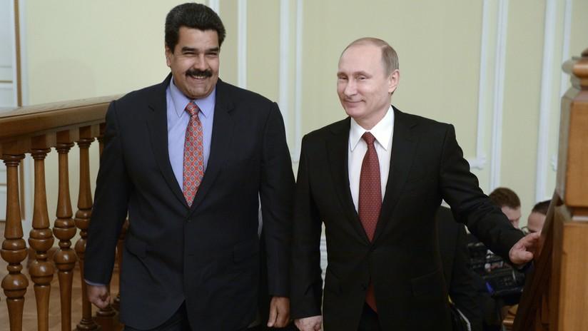 Vladimir Putin le da su respaldo a la política de Nicolás Maduro