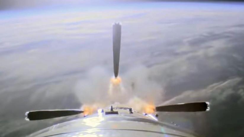 VIDEO: Así fue el despegue del Soyuz-FG rumbo a la EEI, visto desde el cohete