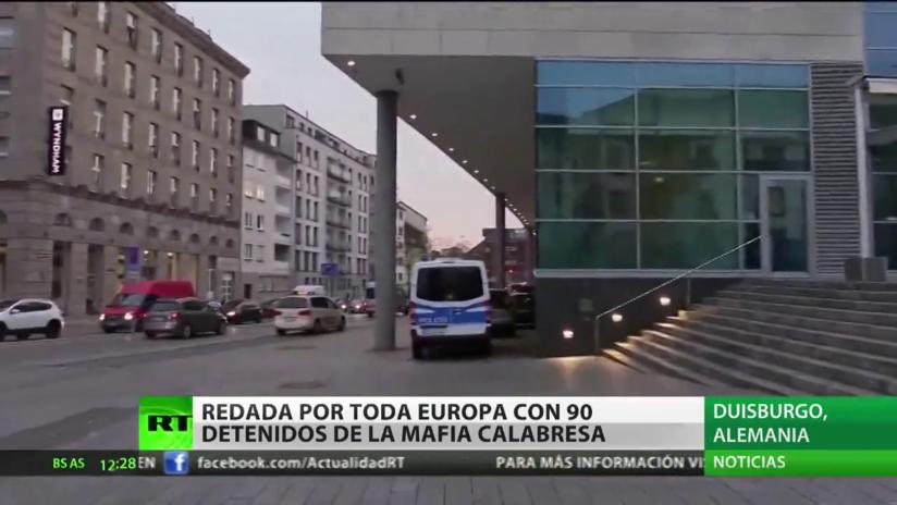 Redada histórica por toda Europa se salda con 90 detenidos de la mafia calabresa