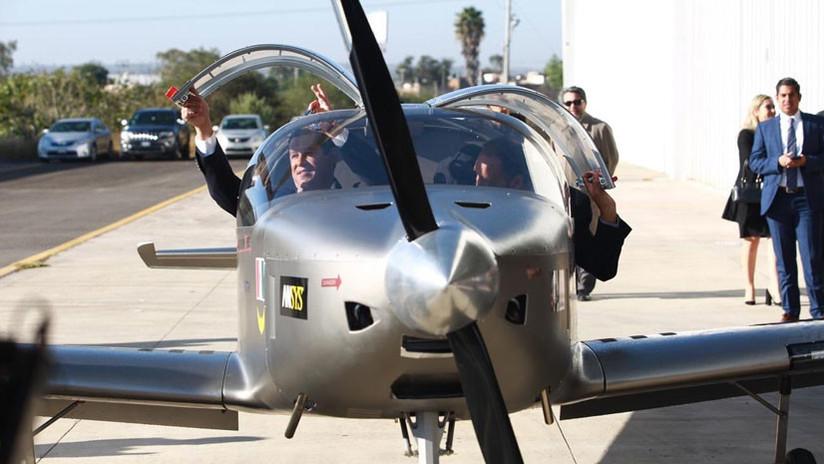 Presentan el 'Halcón 1', el primer avión comercial diseñado en México en 77 años