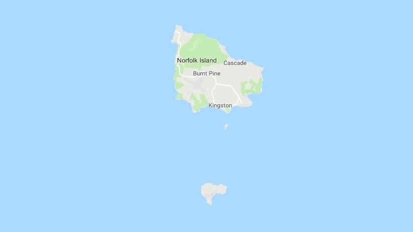 Se registra un sismo de 6,0 al noreste de la isla australiana de Norfolk