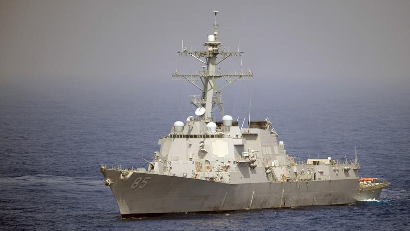 Rusia: La Flota del Pacífico escolta a un destructor de EE.UU. en el mar del Japón