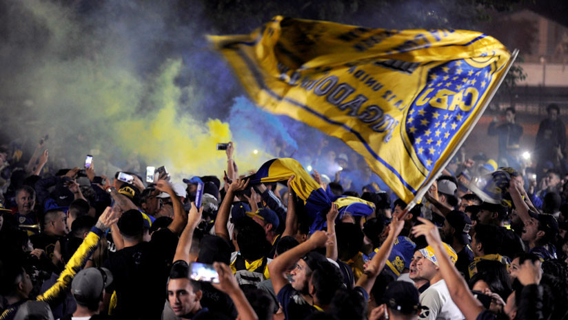 La Policía española devuelve a Argentina a líder de hinchas radicales del Boca Juniors
