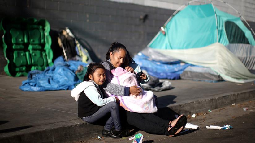 """RT ingresa al mayor barrio de indigentes y el más peligroso de EE.UU., donde """"sobrevivir es difícil"""""""